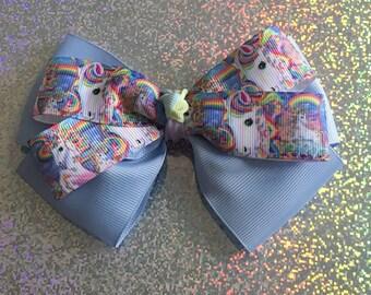 Unicorn Hairbow