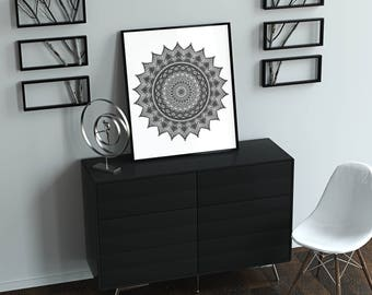 Mandala Art Print - Perfect for your home!