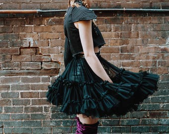 Youth Wasted Tutu Harness