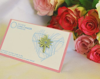 Star Charity Wedding Favour