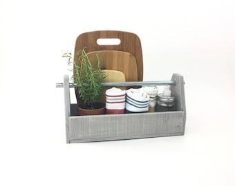 Rustic Wooden Tool Box