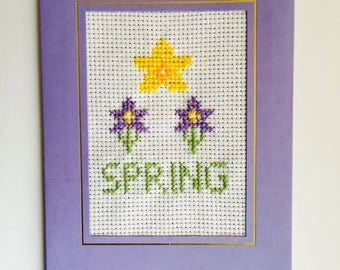 Cross Stitch Cards - New Special Spring Collection