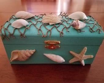 Unique Coastal Treasure Box in Pacific Coast