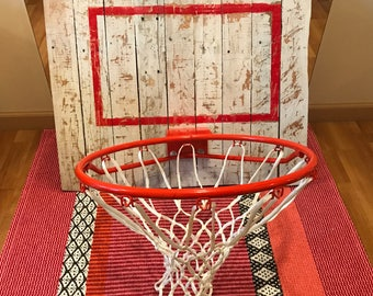 Rustic Basketball Hoop