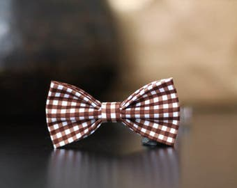 Butterfly Plaid Brown