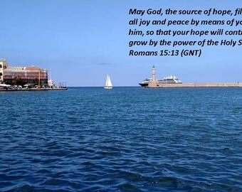 Sailing On The Med, Sailing, Greece, Scripture Photography, Inspirational Photography, Scripture Photo Art, Scripture Picture