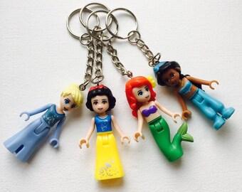 Disney princess keyring