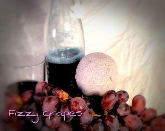 Fizzy Grapes Bath Bomb (Available in 3, 6 or 12 count)