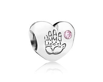 Pandora Baby Girl Heart Charm