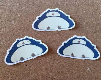 Pokéblobs - Snorlax Sticker