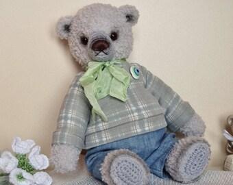 Bear Snowdrop, crochet toy