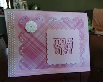 """Hand Made Greeting Card """"Make a Wish"""" sentiment"""