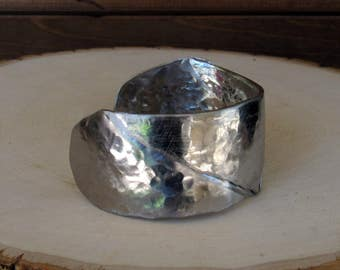 Folded Stainless Steel Cuff