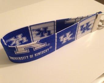 University of Kentucky Keychain Wristlet