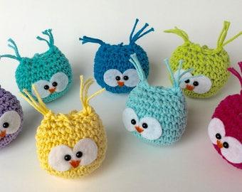 Owl stuffed animal/Crochet Owl/Amigurumi Owl/Owl ornament/Stuffed owl/Owl plushie/Toy owl/Baby owl