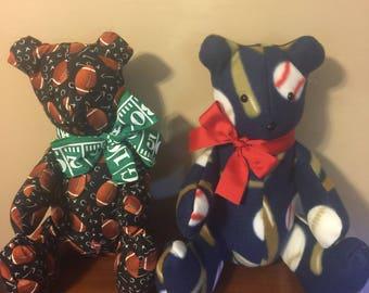 Sports Themed Teddy Bears