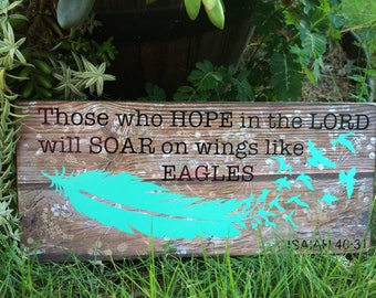 Isaiah 40:31,feather,eagle wings,inspirational,bible verse,god,rustic