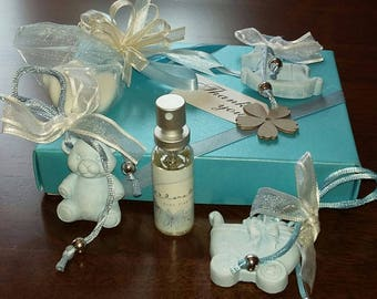 Baby favours  Keepsake Room diffusers Bomboniere Baby shower Pink Blue