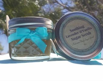 Lavender and Vanilla Sugar Scrub - 16oz
