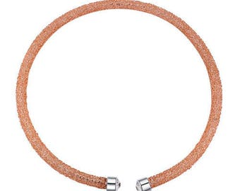 Austrian crystal necklace - bright light