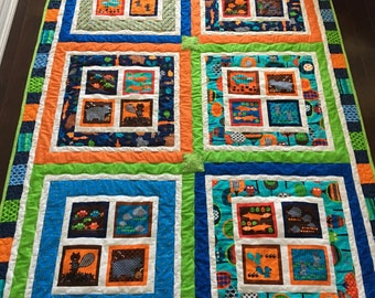 Colorful Kids Quilt