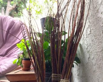 "Foraged Jacaranda Twig Vase Filler | 18""-24"" Natural Branch Bundles | Rustic Wedding Table Decor"