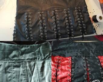 A tailored skirt.
