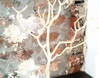 Industrial Style Cement Based Jewellery Tree