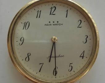 Vintage Agir Watch 17 Jewels Pocket Watch Hand Winding