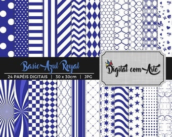 Royal Blue Digital Paper