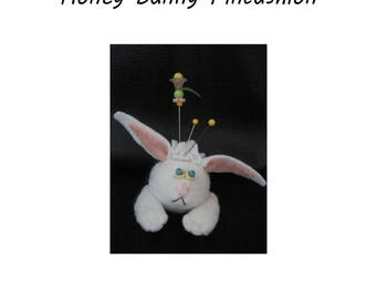 Honey Bunny Finger Pincushion Kit