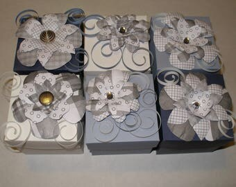 Handcrafted gift/favor boxes