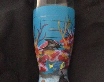 Coral Reef Glass