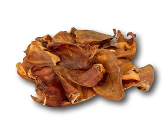 Pig Ears 10 Pack - Made in the USA - Full Large Pig Ears …