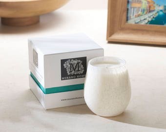 Murano Glass Candle - Wild Fig & Cassis