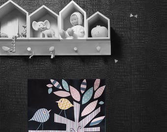 Child/baby room, wall decor, nature table.