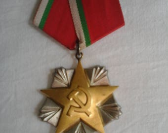 Medal of labor silver