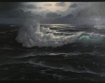 Maurice Meyer seascape painting