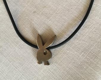 1980s  Play Boy Bunny Pendant