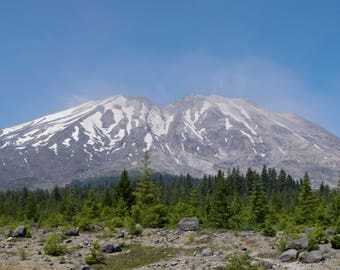 Mount St Helens National Park, Photography, 20 X 30 Print