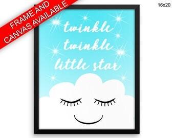 Twinkle Twinkle Little Star Wall Art Framed Twinkle Twinkle Little Star Canvas Print Twinkle Twinkle Little Star Framed Wall Art Twinkle