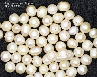 light peach potato pearls, potato pearls light peach, potato pearls, peach potato pearls, potato pearls peach,