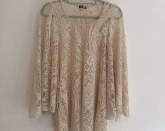 Vintage Chelsea Girl Lace Top