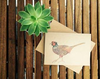 Vibrant Pheasant Card