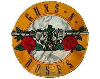 Guns N' Roses Replica Axl Rose Embroidered Big Patch forJacket Back Rock Band Slash