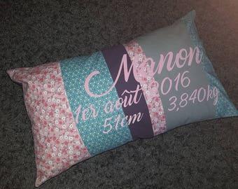 Custom cushion model birth