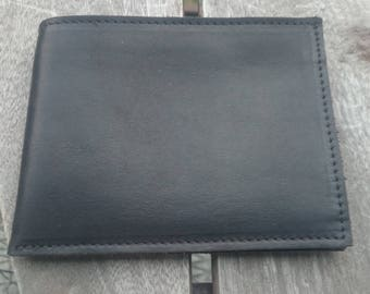 Portfolio leather