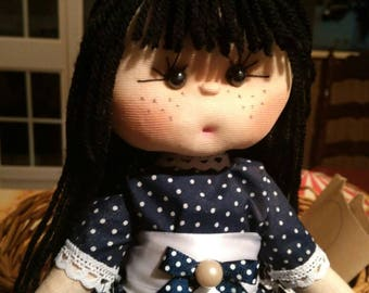 Fabric doll is called MaryPili