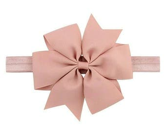 Baby bow head band