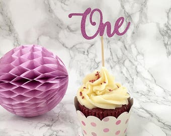Personalised Age CupCake Topper